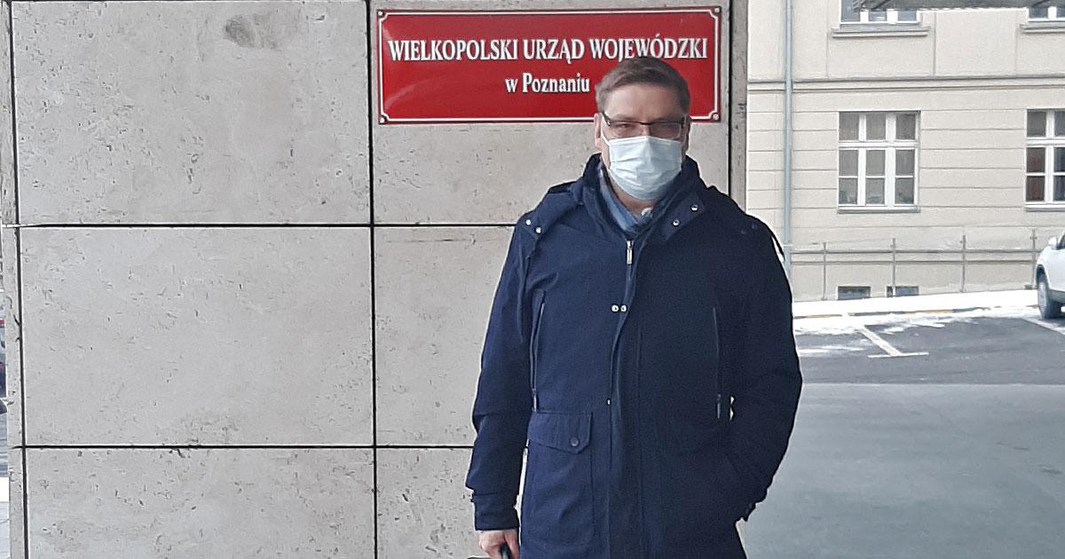 Rejestracja KWW Pawła Przepióry 18 stycznia 2021 r.