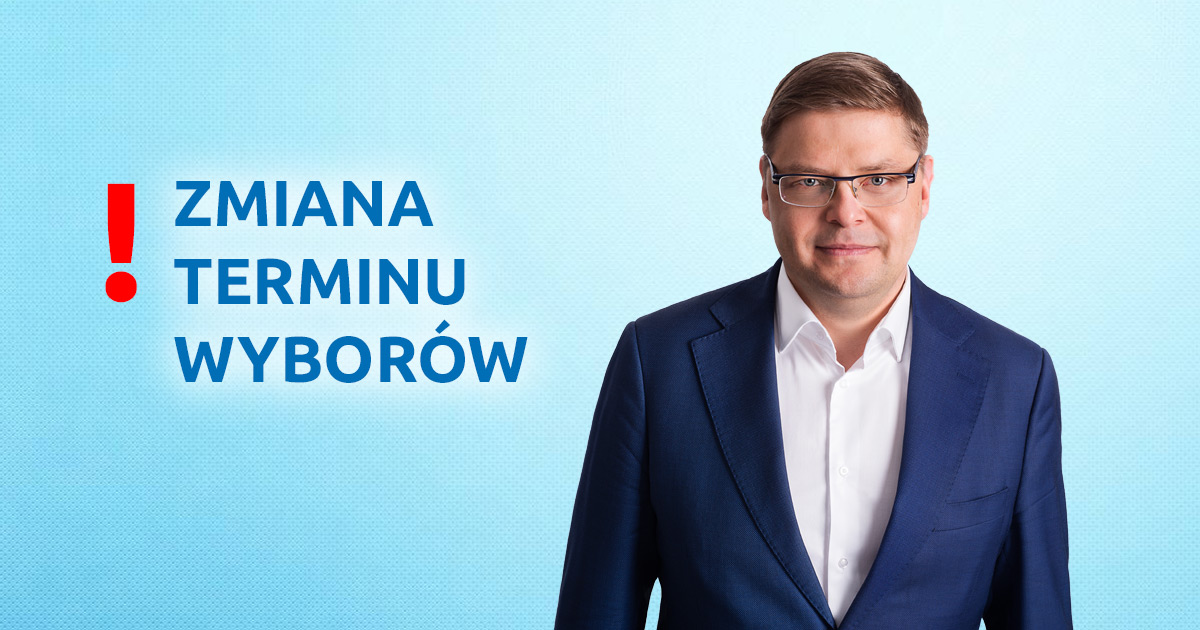 Zmiana terminu wyborów Wójta Gminy Dopiewo Paweł Przepióra