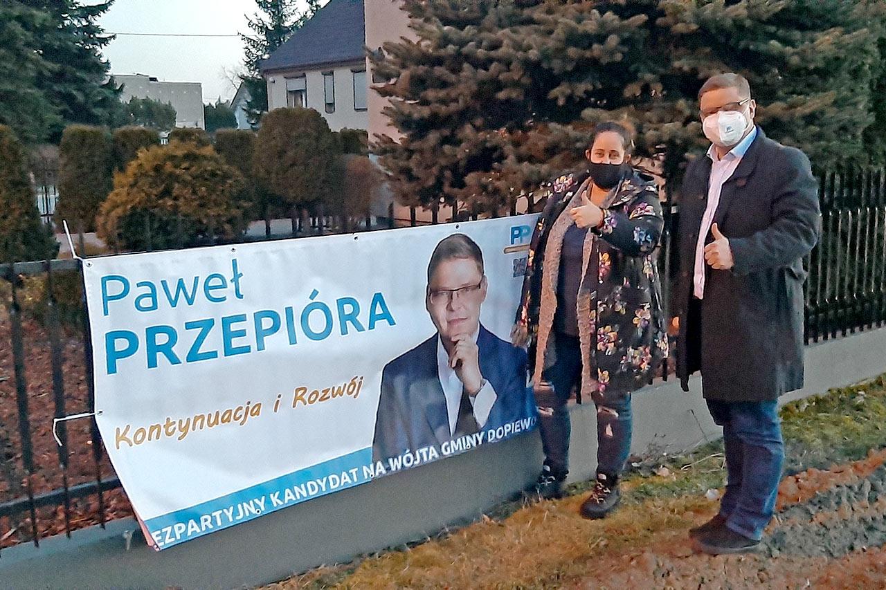 Paweł Przepióra kandydat na wójta gminy Dopiewo Konarzewo