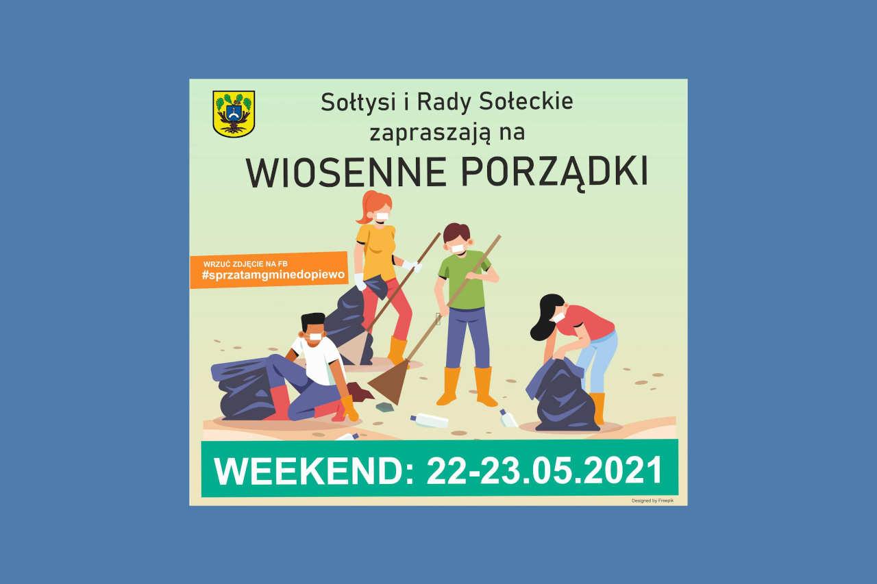 Paweł Przepióra Wiosenne Sprzątanie Gmina Dopiewo