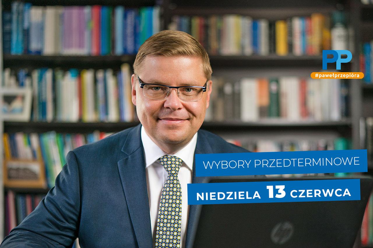 Paweł Przepióra Wybory Dopiewo 13 czerwca 2021 r.